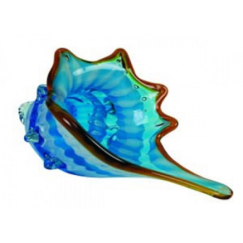 Glass Shell Sculpture/Paperweight