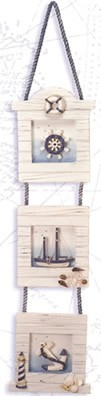 Three Piece Nautical Wall Plaque