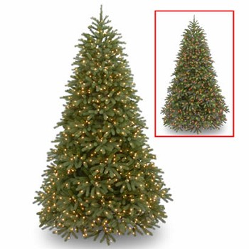 7 12 ft feel real frasier fir christmas tree w 1000 dual leds - Frasier Christmas Tree