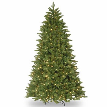 7 12 Ft Feel Real Ridgewood Spruce Christmas Tree W 750 Clr Lights