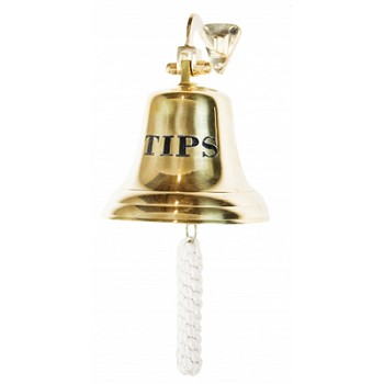 Polished Brass TIPS Bell