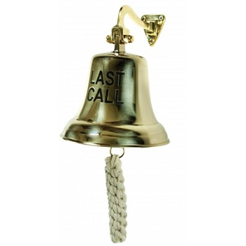 Polished Brass LAST CALL Bell