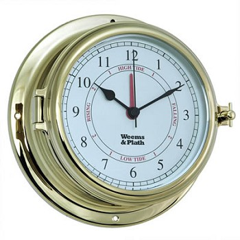 Brass Endurance II 135 Time & Tide Clock