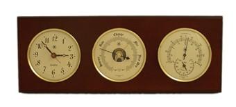 Br Quartz Clock Barometer